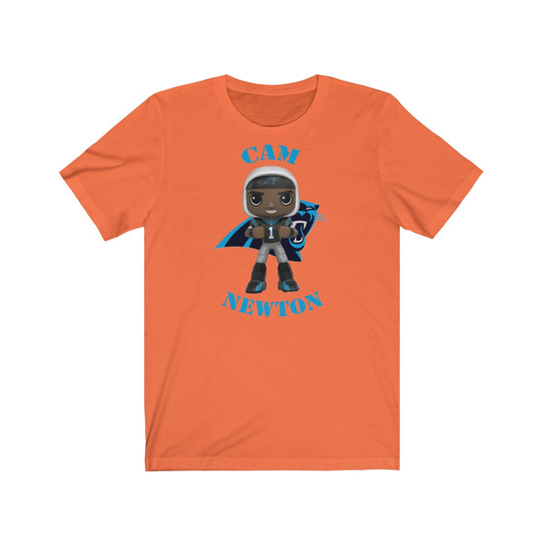Cam Newton Carolina Panthers Large, Soft Cotton Bella and Canvas Short Sleeve Tee shirt