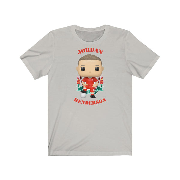 Jordan Henderson Liverpool, Soft Cotton Bella and Canvas Short Sleeve Tee shirt