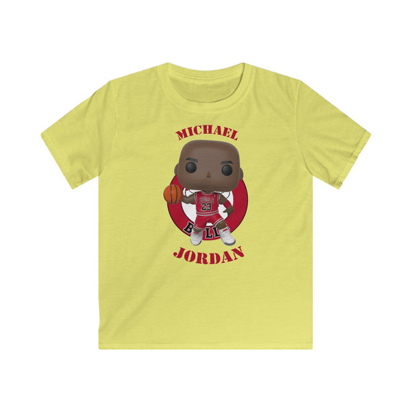 Michael Jordan Chicago Bulls, Kids Gildan Softstyle Tee Shirt