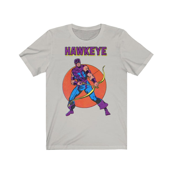 Hawkeye! Long Lasting Print Soft Cotton Bella and Canvas Short Sleeve Tee shirt