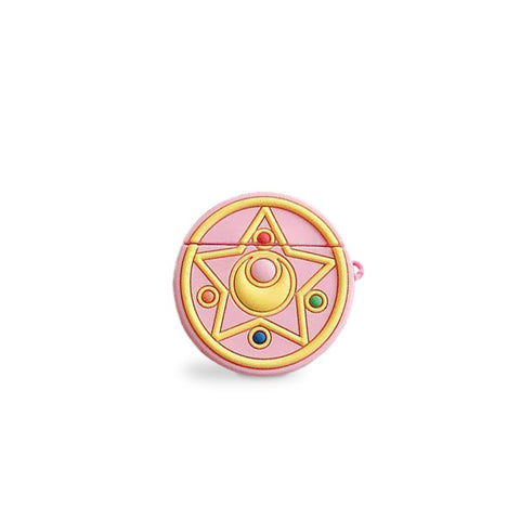 Coque Airpods Rose Kawaii Sailor Moon