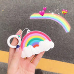 Coque Airpod Arc-en-Ciel Kawaii
