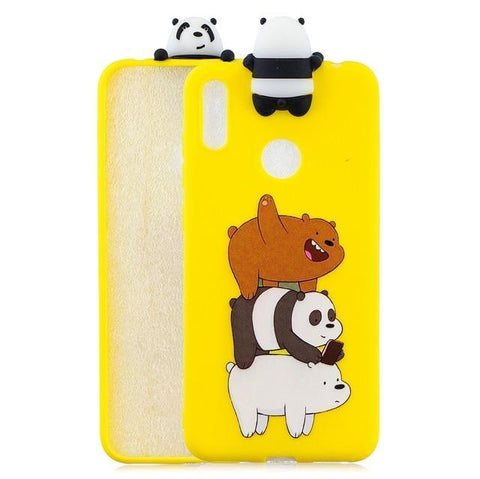 Coque Huawei Kawaii Mini-Panda Dessin | Village Kawaii