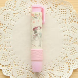 Stylo Gomme Rose Kawaii
