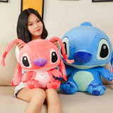 Peluches Stitch et Angel Kawaii