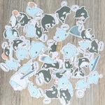 Papeterie Kawaii<br> Stickers Dauphin & Orque