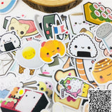 Papeterie Kawaii<br> Stickers Food-Party