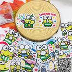 Papeterie Kawaii<br> Stickers Keroppi Hasuno