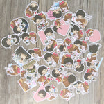 Papeterie Kawaii<br> Stickers Couple Mimi