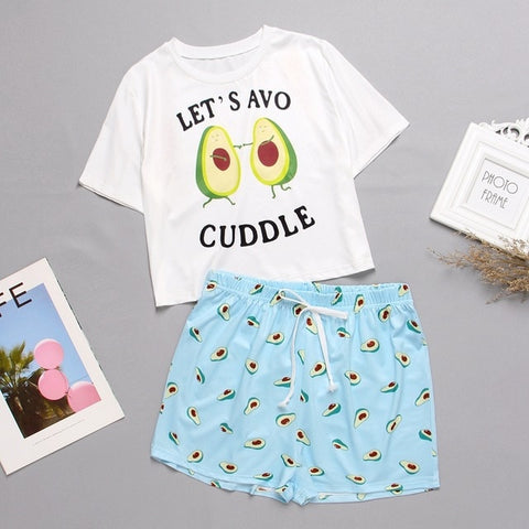 Pyjama Kawaii<br> Let's Avo Cuddle