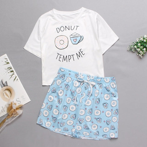 Pyjama Kawaii<br> Donut Tempt Me