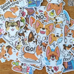 Papeterie Kawaii<br> Stickers Corgi