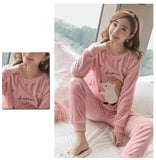 Pyjama Rose Kawaii Animaux