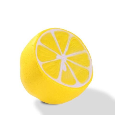 Balle Anti-Stress Squishy en Forme de Citron