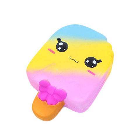 Squishy Glace Multicolore Kawaii Couleurs Pastel