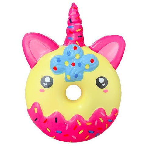 Squishy Licorne Donut Amoureux | Village Kawaii