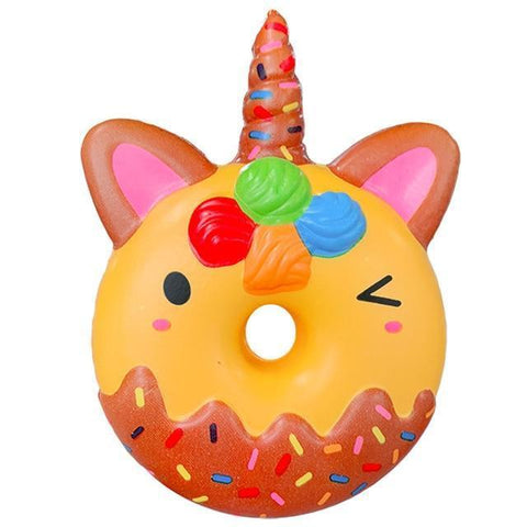 Squishy Licorne Donut Clin d'Oeil | Village Kawaii