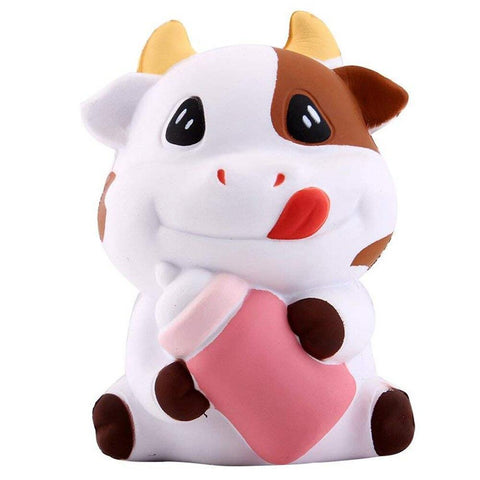 Squishy Vache & Biberon | Village Kawaii