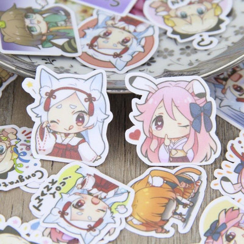 Stickers Anime pour Fille | Village Kawaii