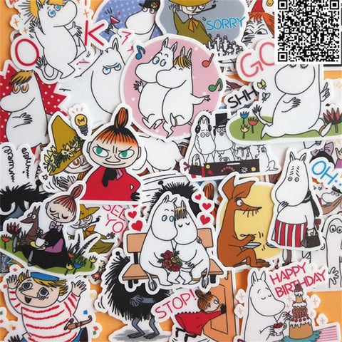 Stickers Bande Dessinée Moumines | Village Kawaii