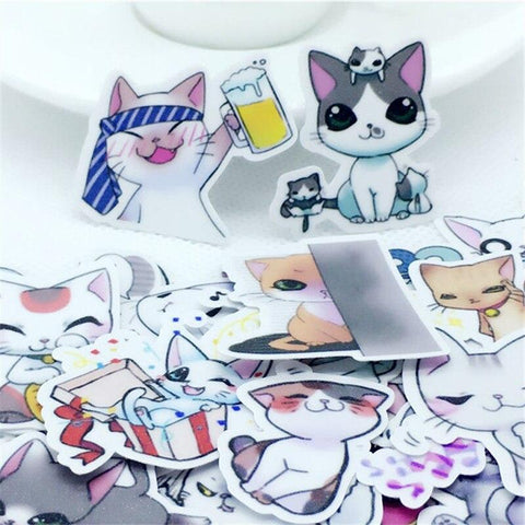 Stickers Chat Japonais | Village Kawaii
