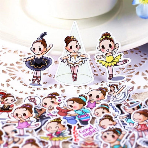 Stickers Danseuse Ballerine | Village Kawaii