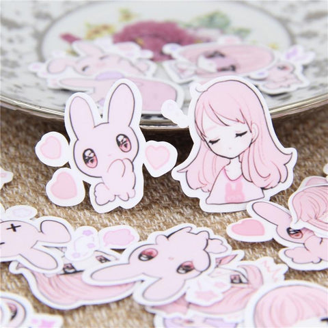 Stickers Lapin pour Fille | Village Kawaii