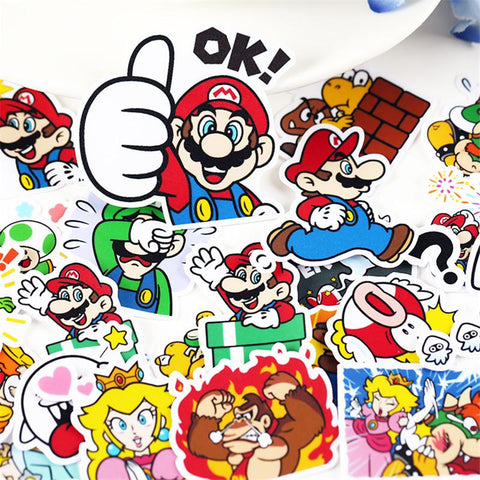 Stickers Mario Bros | Village Kawaii