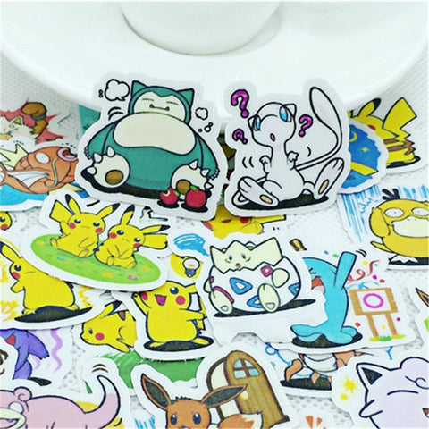 Stickers Pokémon Pour Cahier | Village Kawaii