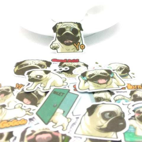Stickers Pug | Village Kawaii