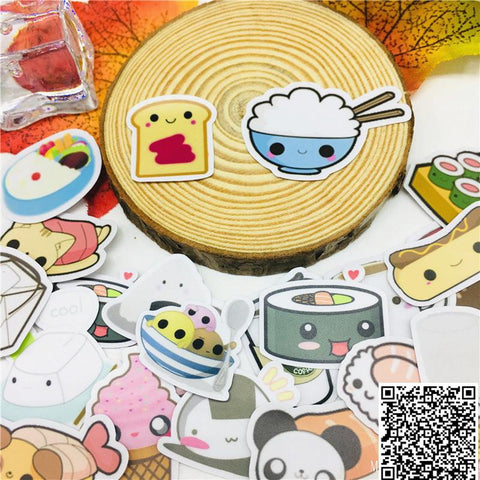 Stickers Sushi Kawaii | Village Kawaii