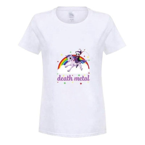 T Shirt Licorne Death Metal