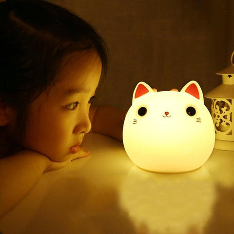 Veilleuse Chat LED | Village Kawaii