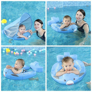 Baby Swim Float with UV Canopy - Our Baby Nursery