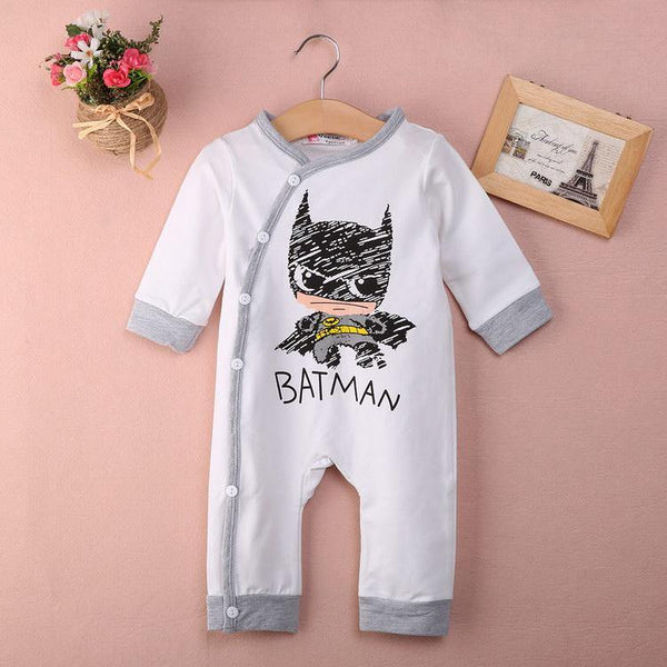Batman Long Sleeve Onesie - Our Baby Nursery