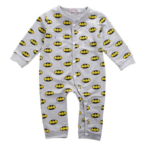 Batman Long Sleeve Romper - Our Baby Nursery