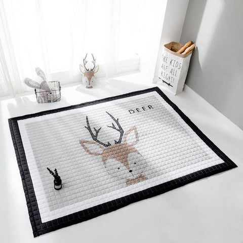 Nordic Animal Padded Play Mats - Our Baby Nursery