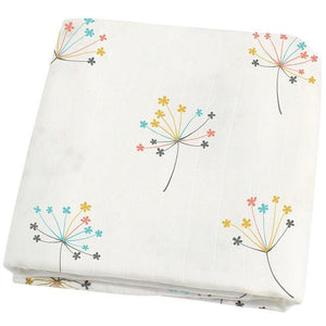 Dandelion Muslin Swaddle - Our Baby Nursery