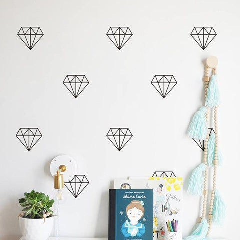 Diamonds Nordic Style Decal - Our Baby Nursery