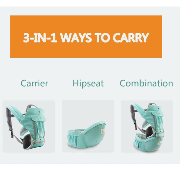 Ergonomic 6-in-1 Baby Carrier - Our Baby Nursery