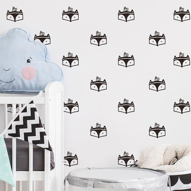 Foxes Decal - Our Baby Nursery