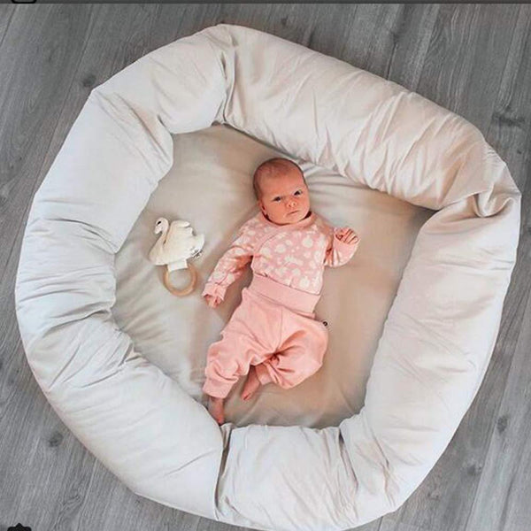 Large Round Kids Cushion - Our Baby Nursery