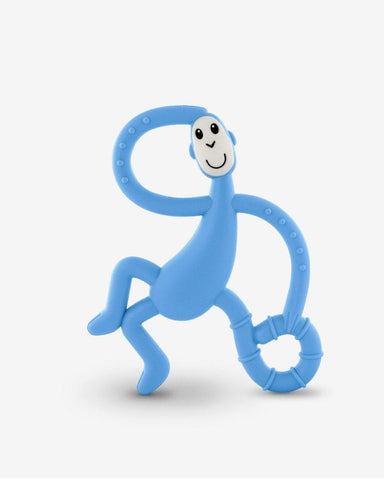 Matchstick Monkey Dancing Monkey Teether - Baby Blue