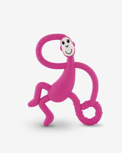 Matchstick Monkey Dancing Monkey Teether - Pink