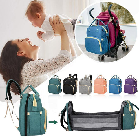 Multifunctional Nappy Bag - Our Baby Nursery