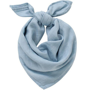 Muslin Square - Sky Blue - Our Baby Nursery