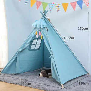 Portable Kids Teepee Tent - Our Baby Nursery