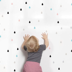 Raindrop Decal - Our Baby Nursery