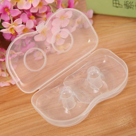 Silicone Nipple Shields (2 pcs) - Our Baby Nursery
