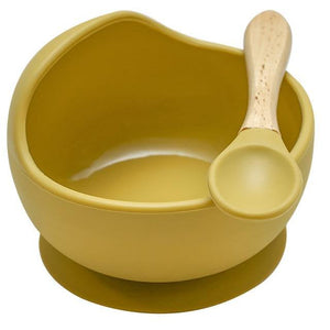 Silicone Suction Bowl + Spoon - Our Baby Nursery